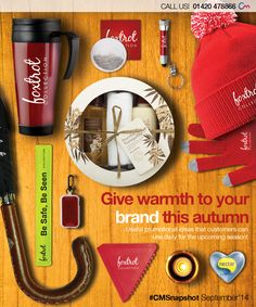 Promotional Autumn & Winter Merchandise! Click the following link to view products > http://www.completemerchandise.co.uk/promotional-seasonal-products/promotional-autumn-winter-products.html?___SID=U