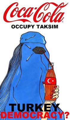 "Humor Chic: Humor Chic Society - OCCUPY TAKSIM ""Turkey Democracy?"" by aleXsandro Palombo"