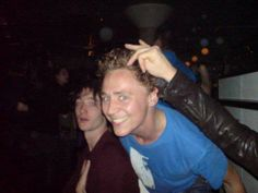 Young Tom ♥ Looks like he's partying it up! haha