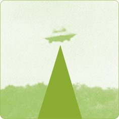 Juan Areizaga #threefivefifty #02 #sticker #3550 #design #ilustration #green #talk #ufo Ufo, Stickers, Green, Design, Decals