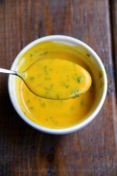 Aji o salsa picante de maracuya Más