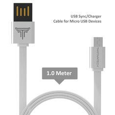 TARTANTECH - Premium Rapid Speed Anti Tangle Universal Reversible Micro USB Cable for Charging & Syncing Devices, Mobile Phone, Tablets & Accessories such as Samsung Galaxy / Tab / HTC / Google Nexus / Sony Xperia / Ericsson / Hudl / Nokia / Motorola / Asus / LG / PS4 / Xbox One / Android / Blackberry / Windows / Kindle /     154 customer reviews  | 5 answered questions Price:	£14.99 Sale:	£9.95 & FREE Delivery in the UK on orders over £20. Details You Save:	£5.04 (34%)