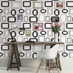 Photo Opp Frames Peel And Stick Wallpaper Roll