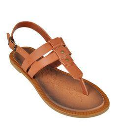 Another great find on #zulily! Chestnut Impart Sandal #zulilyfinds