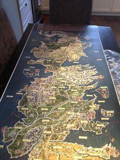 The full map unfolded