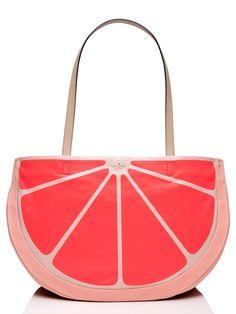 @katespadeny grapefruit tote