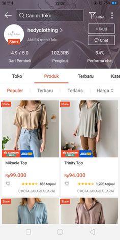 Hijab Fashion, Korean Fashion, Fashion Outfits, Womens Fashion, Best Online Stores, Online Shopping Stores, Casual Hijab Outfit, Casual Outfits, Aesthetic Shop