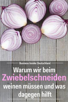 Life-Hack: Schluss mit dem Weinen beim Zwiebelschneiden. Artikel: BI Deutschland Foto: Shutterstock/BI