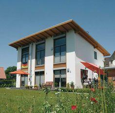 Individuell geplantes Kundenhaus • Ökohaus-Biohaus von Wolf System ...