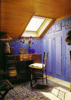 I want to live here. I don't care if it's in a random person's attic.