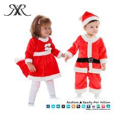 Quem ja viu a nossa roupinha linda de natal? Façam a melhor festa de natal para os seus filhos com Traje de Pai Natal para crianças! Estilo: Meninas e Meninos Tamanhos: 2A (Altura: 80cm) 3A (Altura: 90cm) 4A (Altura: 100cm) 5A (Altura: 110cm) 6A (Altura: 120cm) 7A (Altura: 130cm) 8A (Altura: 140cm)  Preço: 28€ Por Encomenda http://www.rostore.eu/pt/145-traje-de-papai-noel-criança.html