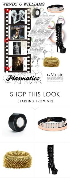 """""""Wendy O Tribute- Punk Queen 👑🤘🎙"""" by lauren-ilana ❤ liked on Polyvore featuring Aime and McQ by Alexander McQueen"""