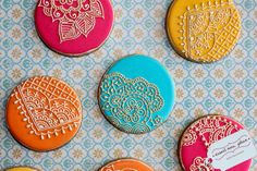 I love these cookies! Copyright Dessert Menu, via Flickr.  What an amazing talent for cookies and cakes!