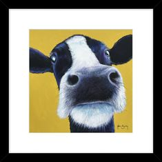 Moo, a fun picture to lift the mood. Milkshake, Cool Pictures, Cow, Artwork, Animals, Fictional Characters, Smoothie, Work Of Art, Animales