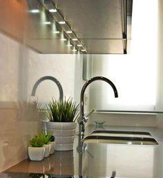 Luz indirecta en la cocina