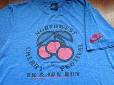 Vintage NIKE 1980s Tshirt / BLUE TAG Northwest by sweetVTGtshirt, $75.00