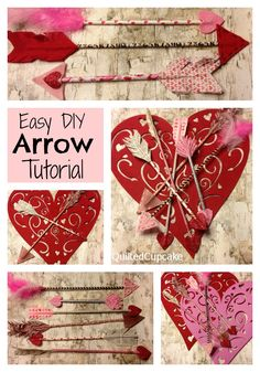 Arrow DIY How to Make Arrows for Valentines Day