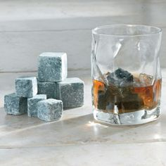 SPARQ Soapstone Ice Rocks  Chill beverages longer than ice, without diluting flavor.