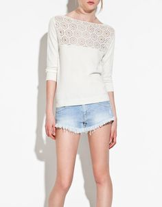 Zara - Love the sweater, hate the shorts