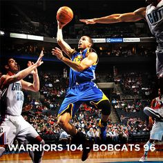 Warriors win Bobcats 104-96
