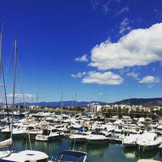 Les vistes del Port de Roses! #aroses #VisitRoses #incostabrava #poblescatalans #descobreixcatalunya #catalunyaexperience #empordaturisme #portderoses #costabrava #igersspain #visitspain