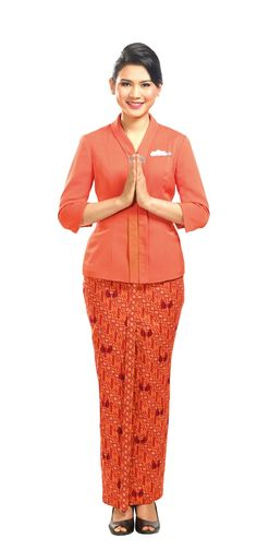 Foto Seragam Kerja Pramugari Garuda dari Awal Berdiri - SurewiWardrobe  b951514908