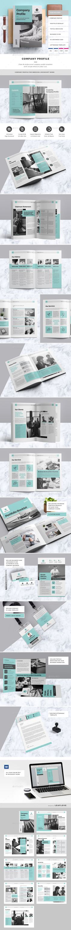 Company Profile Brochure Company profile, Brochure template and - profile company template