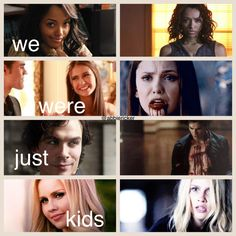 The Vampire Diaries// Just because I felt like being extra and making edits// Elena Gilbert // Damon Salvatore // Bonnie Bennett // Rebekah Mikaelson //Stefan Salvatore // Sad // Quotes