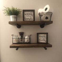 Bathroom Wall Decor Get Naked - Get Naked Relax Soak Unwind Funny Bathroom Wall Decor Farmhouse Bathroom - Rustic Bathroom Decor - Bathroom Ideas Industrial Floating Shelves, Floating Shelves Diy, Floating Cabinets, Floating Bed, Floating Vanity, Rustic Bathroom Wall Decor, Restroom Decoration, Half Bathroom Decor, Country Bathroom Decorations