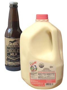 Using great local, organic milk to make the Best Damn Chocolate Milk!