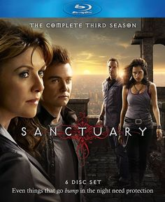 Sanctuary saison 3 en dvd en France