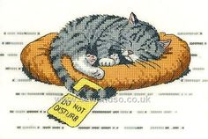 Buy Do Not Disturb Cross Stitch Kit Online at www.sewandso.co.uk