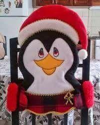 Pingüinito, funda silla