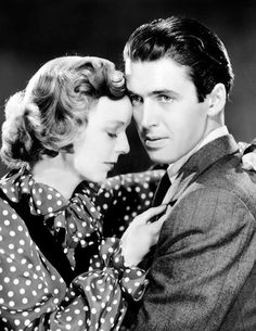 James Stewart and Margaret Sullavan