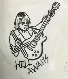 Via Slayer Nation Drawning