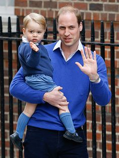 The Royal Wave! Prince George Reports for Big Brother Duty as He Arrives to Meet His New Baby Sister http://www.people.com/people/package/article/0,,20910362_20920205,00.html