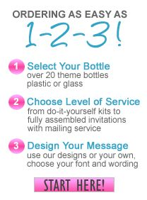 Beach Wedding Invitations: Message In Bottle Invitations, Save The Date, Thank You