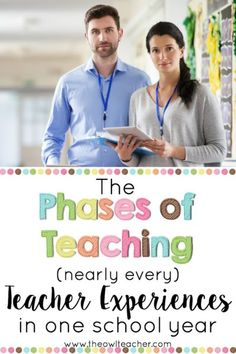 Did you know that there are phases of teaching? A recent study showed five phases of teaching that new teachers tend to experience, but in my opinion I think that nearly every teacher experiences these phases of teaching most school years! Read about the