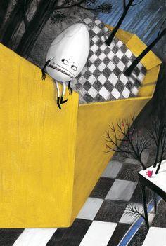 "L. Carroll ""Alice in Wonderland"". Illustrations by Maria Mikhalskaya"
