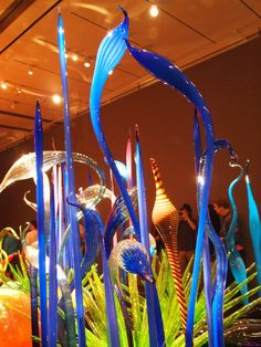 Chihuly blown glass exhibition boston, museum of fine art