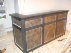 DIY Reception desk