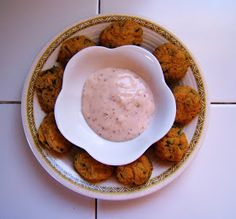 Julia's (Vegan) Kitchen: Chickpea-Artichoke Bites with Rosemary Aioli