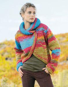 Heft extra 1 Herbst / Winter | 124: Damen Jacke | Mehrfarben