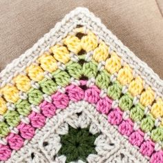 A simple and colorful edging pattern to finish off all your afghans perfectly!