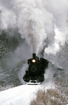 Snow train 1992 / Flickr - Photo Sharing!