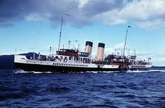 Lovely undated picture of the 'Jeannie Deans'. Isle Of Bute, Isle Of Arran, Steam Boats, Paddle Boat, Seaside Resort, Boat Building, Steamers, Old Photos, Halcyon Days