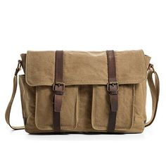 Women Retro Vintage Leather Laptop l Briefcase Handbag