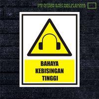 WSKPC168 Sticker K3 Safety Sign Warning Sign Bahay