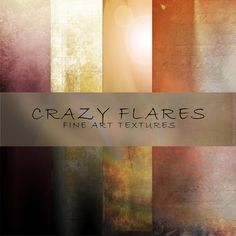 Check out Crazy Flares – Fine Art Textures by 2 Lil Owls Studio on Creative Market