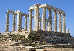 The Temple of Poseidon. Sounion, Greece. 444 B.C. – 440 B.C.